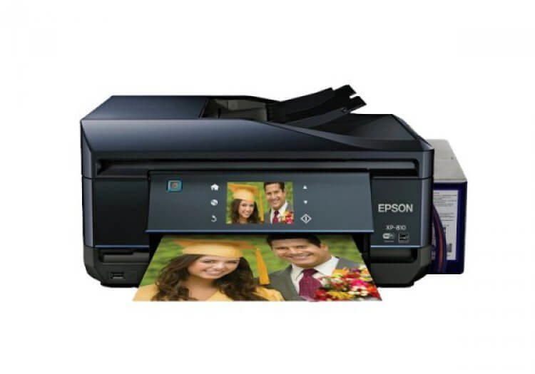 МФУ Epson Expression Premium XP-810 Refurbished с СНПЧ