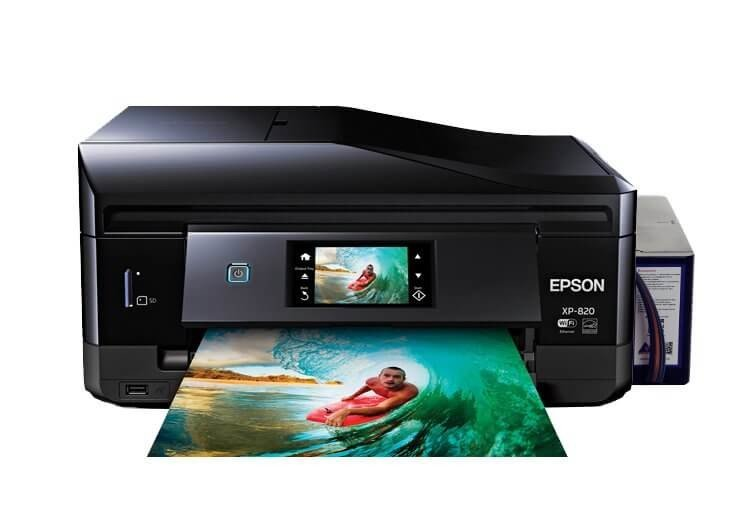 Epson XP-820 Refurbished с СНПЧ 3