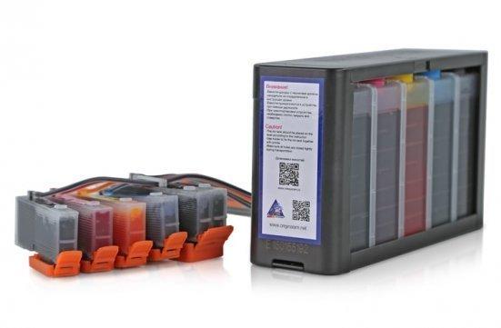 Разновидность струйного недорогого принтера со сканером и копиром «три в одном».