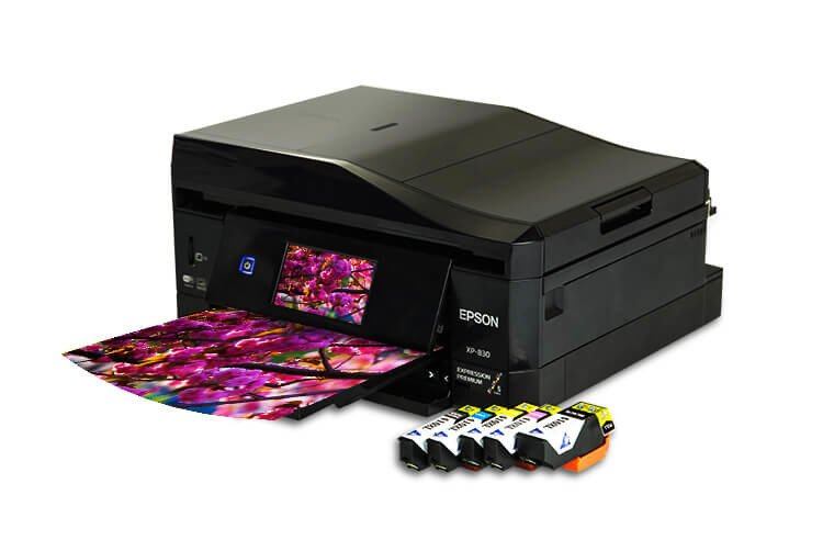 МФУ Epson Expression Premium XP-830 Refurbished с картриджами