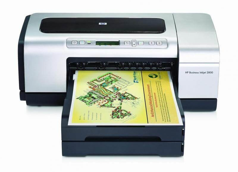 фото Принтер HP Business InkJet 2800 с СНПЧ