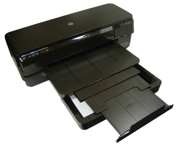 фото Принтер HP OfficeJet 7110 с СНПЧ