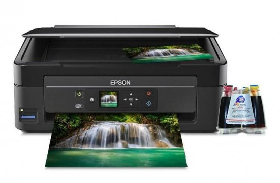 фото МФУ Epson Expression Home XP-323 с СНПЧ