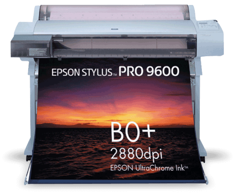 Плоттер Epson Stylus Pro 9600 с ПЗК сайт www.printer-snpch.com.ua