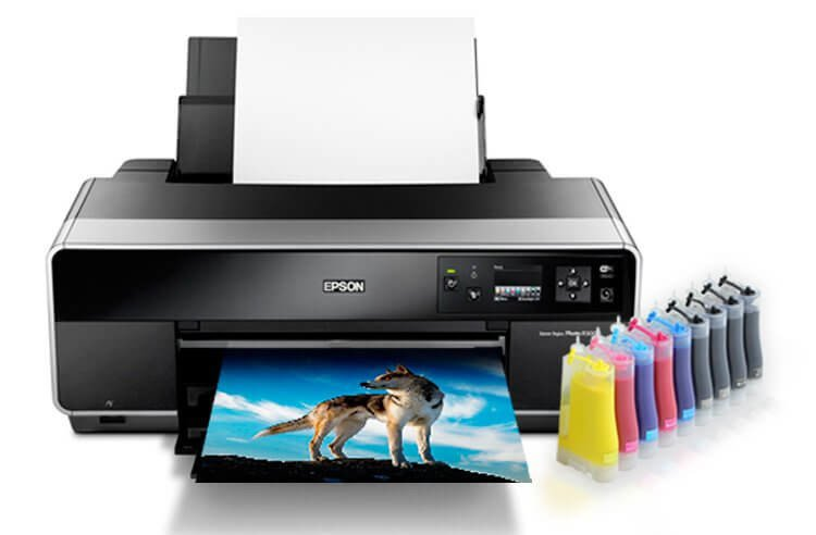 Epson R3000 Refurbished с СНПЧ 5